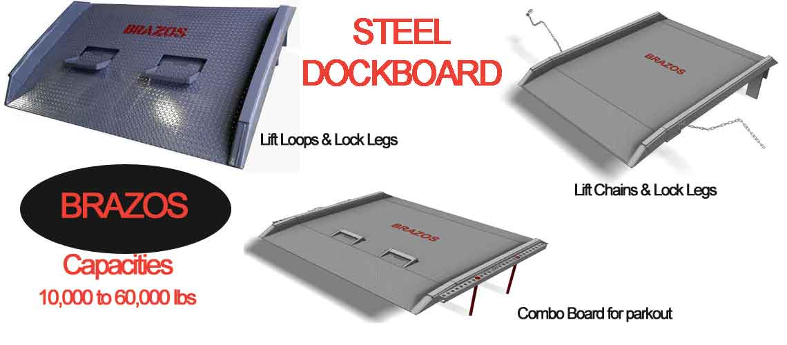 steel loading ramps and dock boards