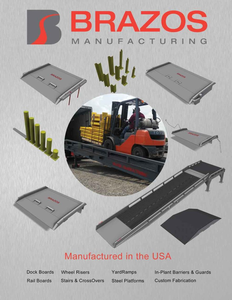 loading dock product brochure by Brazos Manufacturing