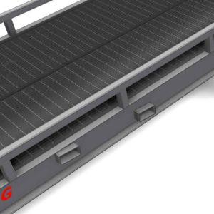 Yard ramps Forklift Pockets - Standard