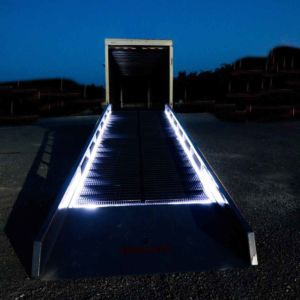 Safety Lighted Ramp by Brazos Manufacturing of Rio Vista, TX