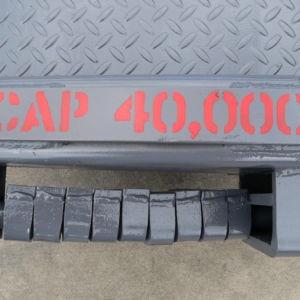 capacity marking on Brazos rail board